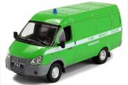 Горький-2705 'Газель' фургон ФСИН, зеленый (1/43)