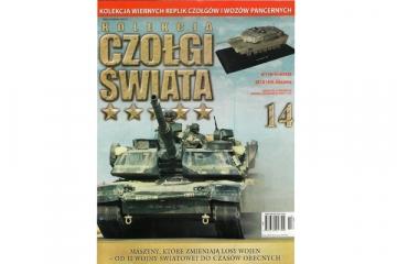 Журнал Czolgi Swiata №14 M1A1HA Abrams