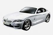 BMW Z4 Coupe, серебристый (1/32)