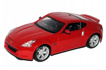 Nissan 370Z 2009, красный (1/24)