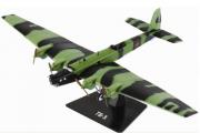 Самолет ТБ-3, зеленый камуфляж (1/144)