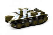 Танк БТ-5, хаки/белый камуфляж (1/72)