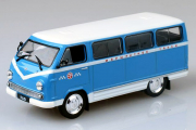 РАФ-977ДМ 'Латвия' Маршрутное такси, синий (1/43)