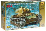 Танк КВ-1 с пушкой Л-11 1940 г. (1/35)