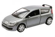 Citroen C4 Coupe, серебристый (1/32)