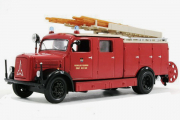 Magirus-Deutz S 3000 SLG пожарный 1941, красный (1/43)