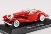 Mercedes-Benz 540K 1936, красный. Треснут бокс (1/43)