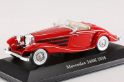 Mercedes-Benz 540K 1936, красный. Дефект бокса (1/43)