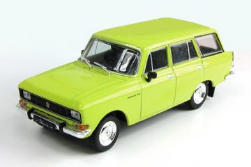 Москвич-2137, желтый (1/43)