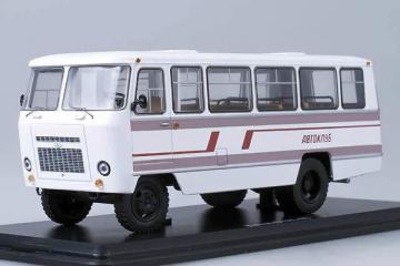 Автобус Кубань-Г1А1-02 'Автоклуб', белый (1/43)