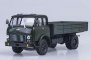 МАЗ-500 бортовой, темно-зеленый (1/43)