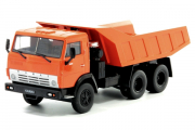 КАМАЗ-5511 самосвал, оранжевый (1/43)