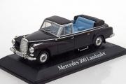 Mercedes-Benz 300 Landaulet Konrad Adenauer 1963, черный (1/43)