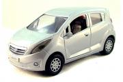 Daewoo Matiz III, серебристый (1/32)