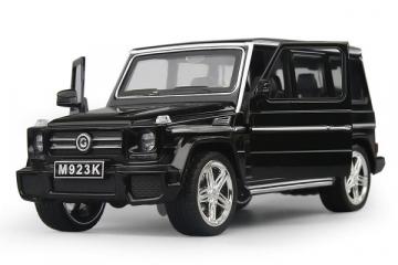Mercedes-Benz G65 SUVS Гелендваген, черный (свет, звук) (1/24)
