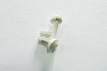 Воздухозаборник Камаз-5410, белый (1/43)