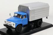 ЛуМЗ-890Б (ЗИЛ-130), синий/серебристый (1/43)
