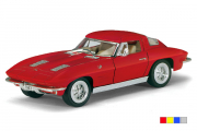 Chevrolet Corvette Sting Ray 1963, цвета в ассортименте (1/36)