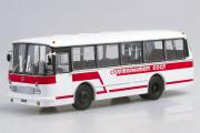 Автобус ЛАЗ-695Р Спорткомитет СССР, белый/красный (1/43)