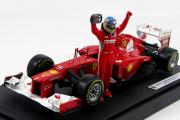 Ferrari F1 F2012 №5 Winner GP Malaysia 2012 F.Alonso с фигуркой (1/18)