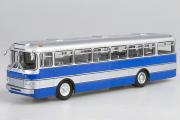 Автобус Икарус-556, серебристый/синий (Венгрия) (1/43)
