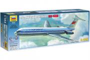 Самолет Ил-62М (1/144)