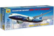 Самолет Боинг 787-8 Дримлайнер (1/144)