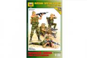 Солдаты Российский спецназ. Група огневой поддержки (1/35)