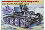 Танк немец. Pz.Kpfw.38 (t) Ausf.G (1/35)