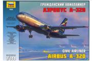 Самолет А-320 Аэробус (1/144)