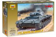 Танк T-III (F) немецкий средний (1/35)