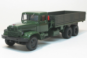 КрАЗ-219Б бортовой 1963, зеленый/серый (1/43)