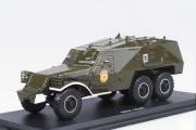 БТР-152К парадный, хаки (1/43)