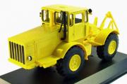 Трактор К-700 Кировец 1962, желтый (1/43)