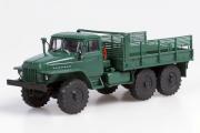 Урал-375Д бортовой, зеленый (1/43)