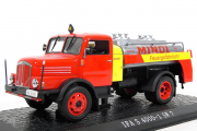 IFA S 4000-1 SW7 цистерна, красный/желтый