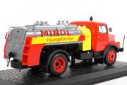 IFA S 4000-1 SW7 цистерна, красный/желтый (1/43)