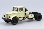 МАЗ-200В седельный тягач, бежевый (1/43)
