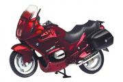 Мотоцикл BMW R1100RT (9984), вишневый (1/18)