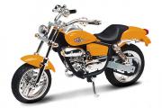 Мотоцикл Honda Magna (9995), оранжевый (1/18)