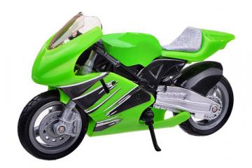Мотоцикл Indianapolis Speed Way (9780), зеленый (1/18)