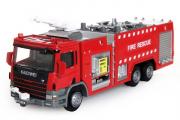 Машина пожарная с брандспойтом Kaidiwei, красный (T100-D570) (1/50)
