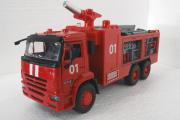 КАМАЗ-65115 пожарный (свет, звук), красный (1/38)