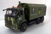 КАМАЗ-65115 кунг Вооруженные Силы (свет, звук), зеленый (1/38)