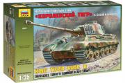 Танк 'Королевский Тигр' T-VI Ausf.B с башней Хеншель немецкий тяжелый (1/35)