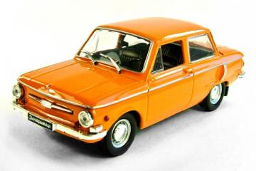 ЗАЗ-968А 'Запорожец', оранжевый (1/43)