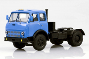 МАЗ-504В седельный тягач 1970, синий (1/43)