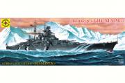 Корабль 'Bismarck (Бисмарк)' линкор Германия 1940 (1/350)