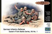 Немецкая пехота в обороне. Набор №1 (1/35)
