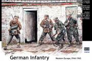 Солдаты Немецкая пехота в Западной Европе, 1944-45 (1/35)